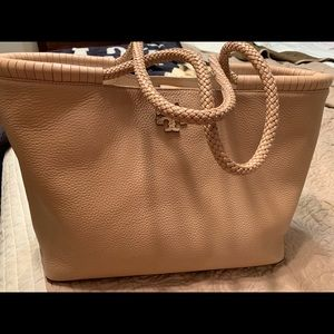 NET Tory Burch Taylor tote sand color